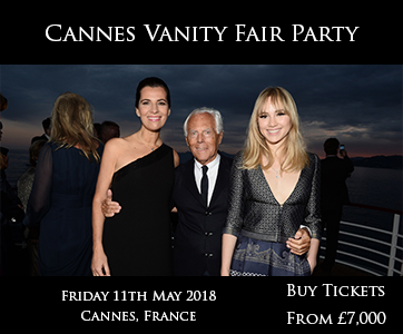 Cannes Vanity Fair Party