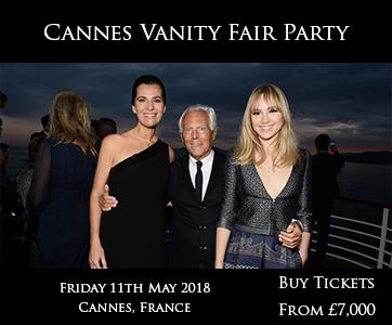 Cannes Vanity Fair Party