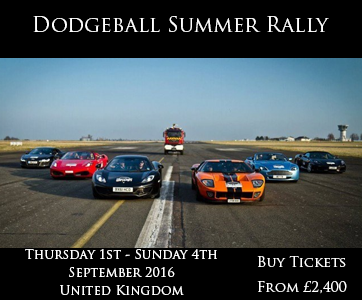 Dodgeball Summer Rally