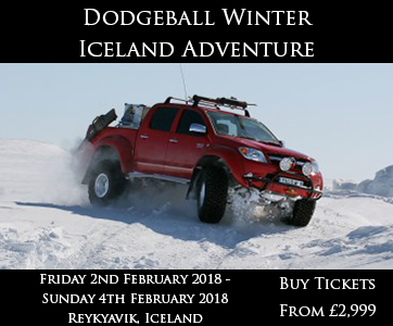 Winter Dodgeball Iceland Adventure