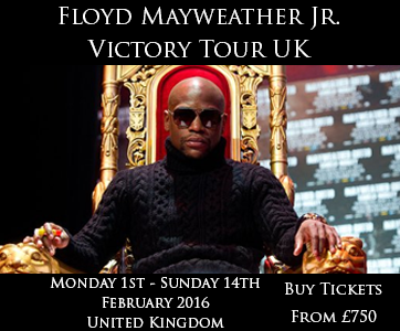 Floyd Mayweather Jr. Tour