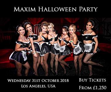 Maxim Halloween Party