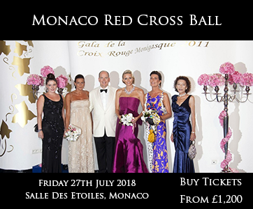 Monaco Red Cross Ball
