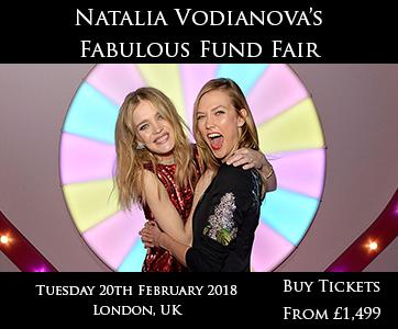 Natalia Vodianova's Fund Fair