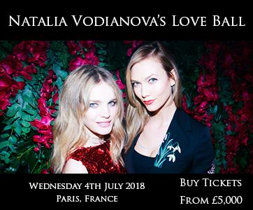 Natalia Vodianovo's Love Ball