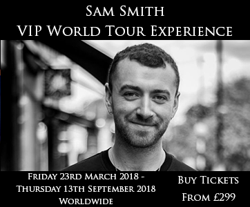 Sam Smith VIP Tour Experience