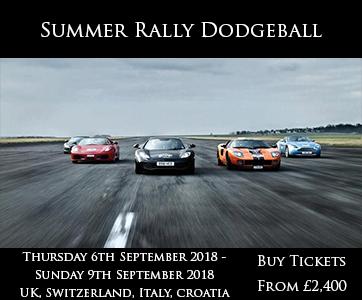 Dodgeball Summer Rally