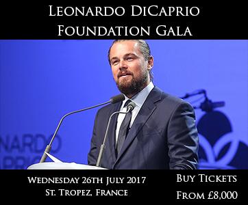 Dicaprio Foundation Gala