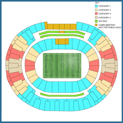olympic 2016 seating plan