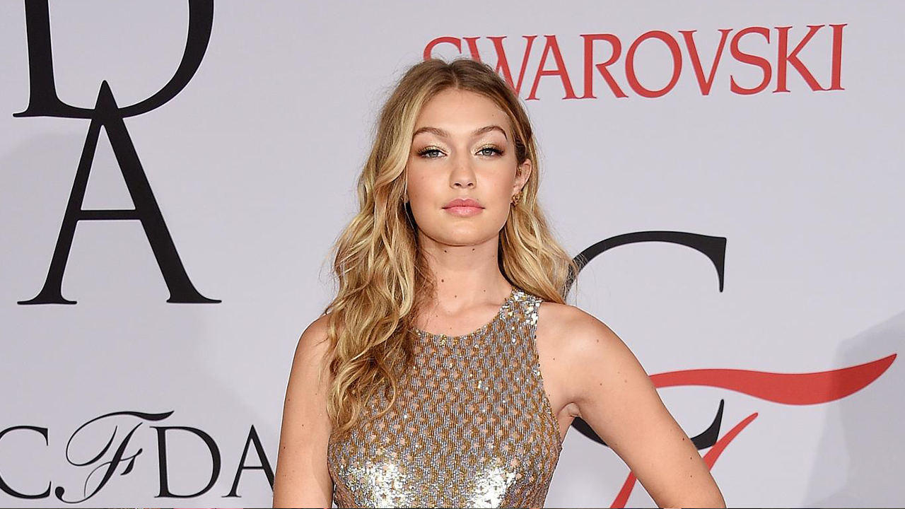 Gigi Hadid At CFDA Fashion Awards