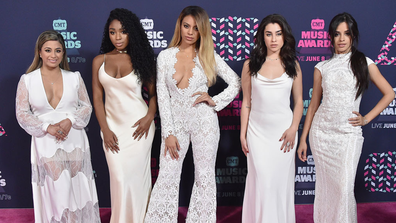 Fifth Harmony On CMT Music Awards Red Carpet