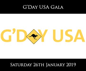 G'Day USA Gala
