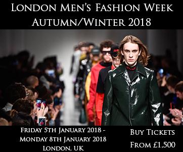 London Men's Fashion Week Autumn/Winter