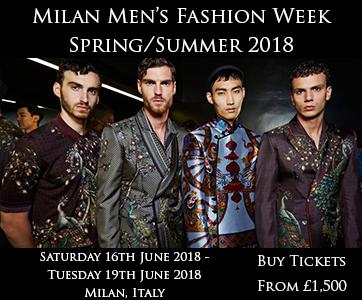 Milan Men's Fashion Week Spring Summer 2018