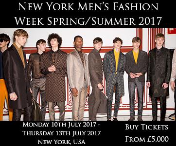 New York Men's Fashion Week