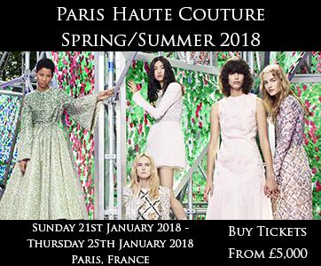 Paris Haute Couture Spring/Summer