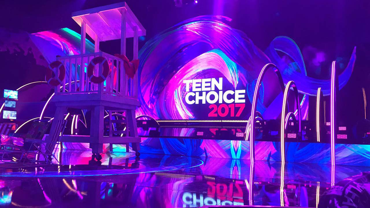 Teen Choice Awards 2017 Stage