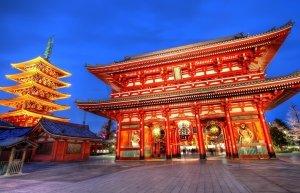 Japenese temple