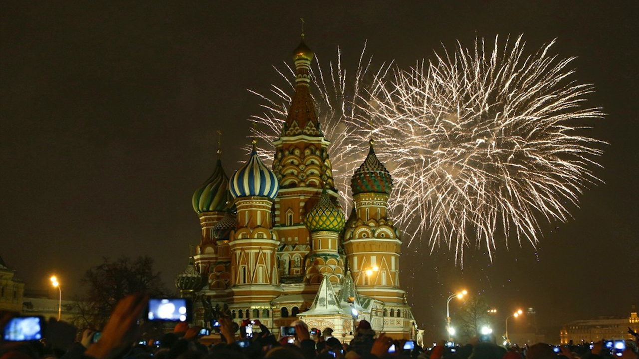 Moscow New Years Eve