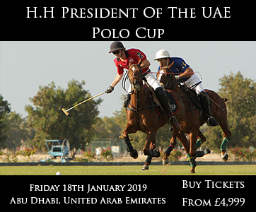 President of UAE Polo Cup