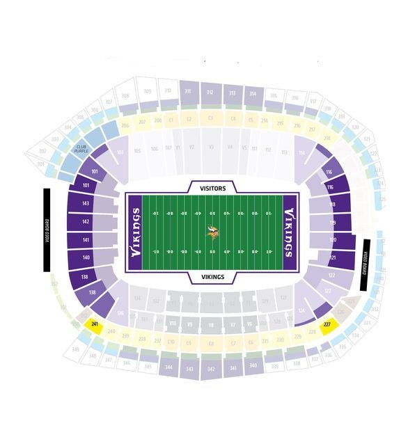 Bank Stadium Seating Plan