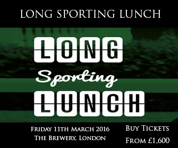 Long sporting lunch