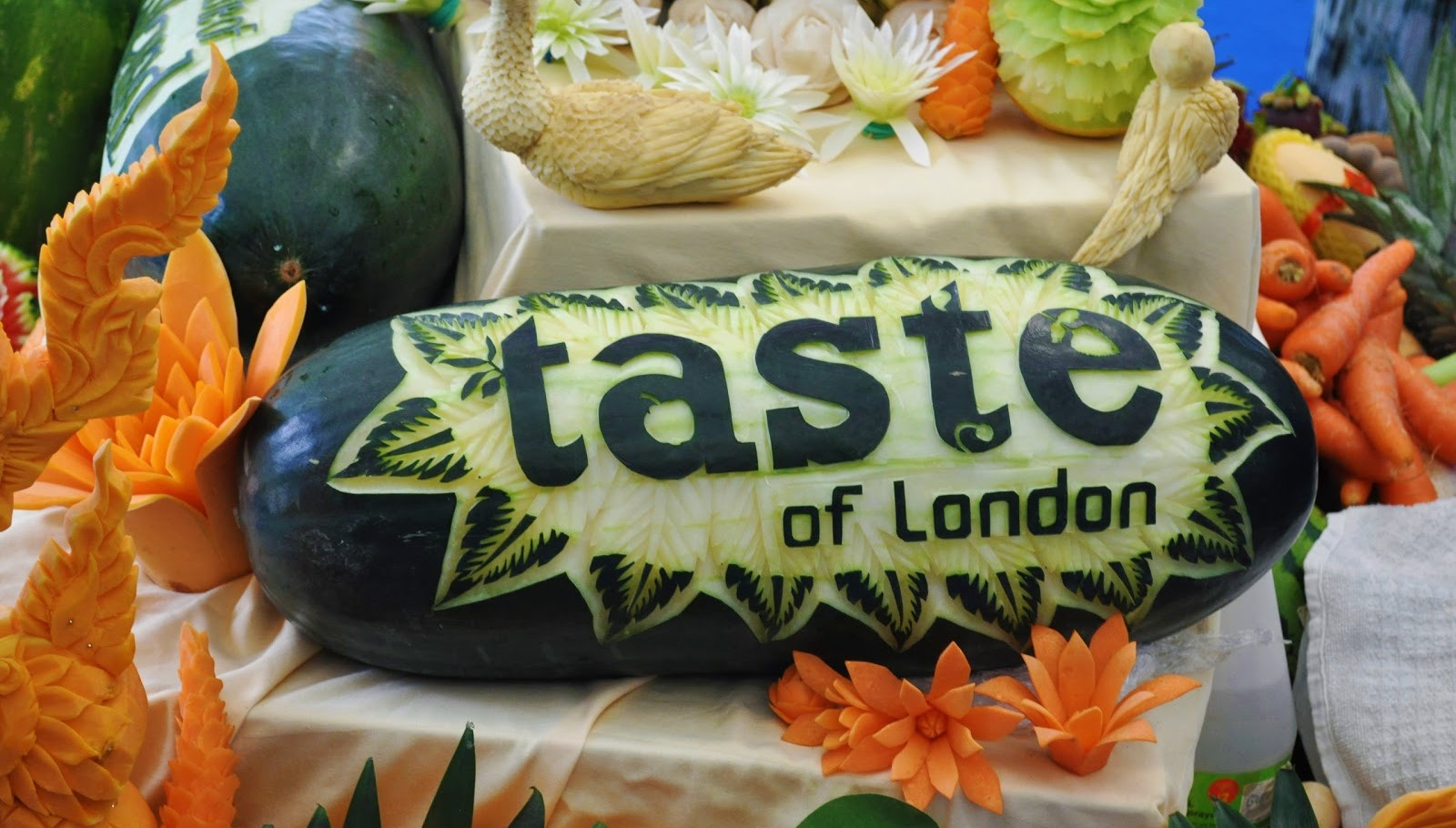 taste of london Vegetables