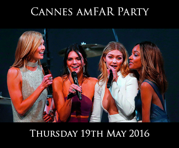 Cannes amFAR Party