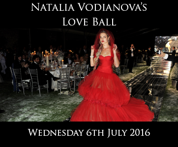 Natalia Vodianovo's Love Ball