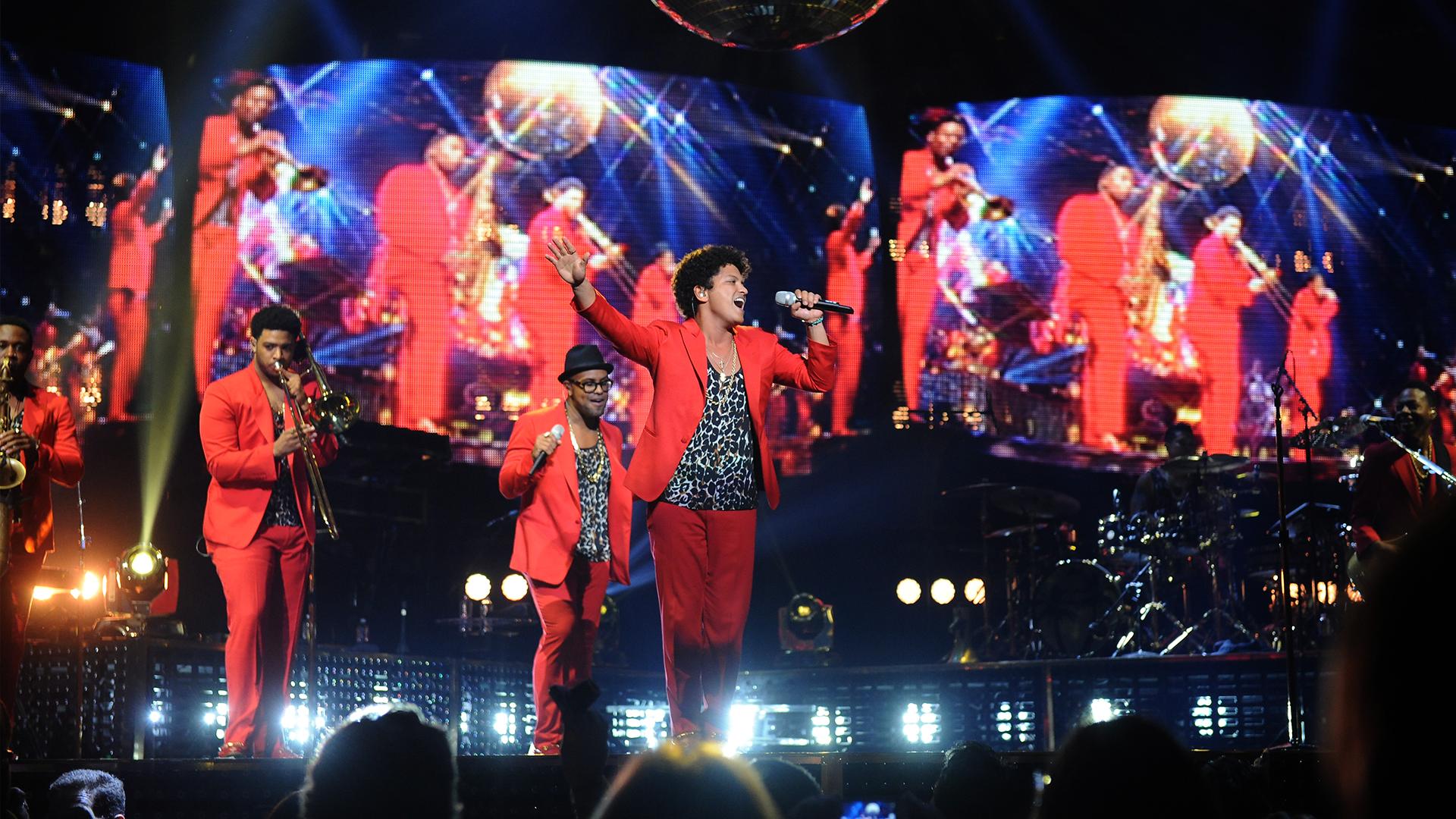 Bruno Mars Live 1