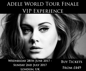 Adele World Tour Finale VIP Experience