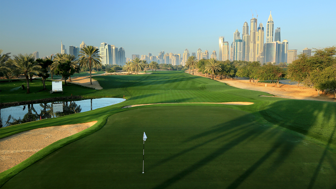 Omega Dubai Golf Course