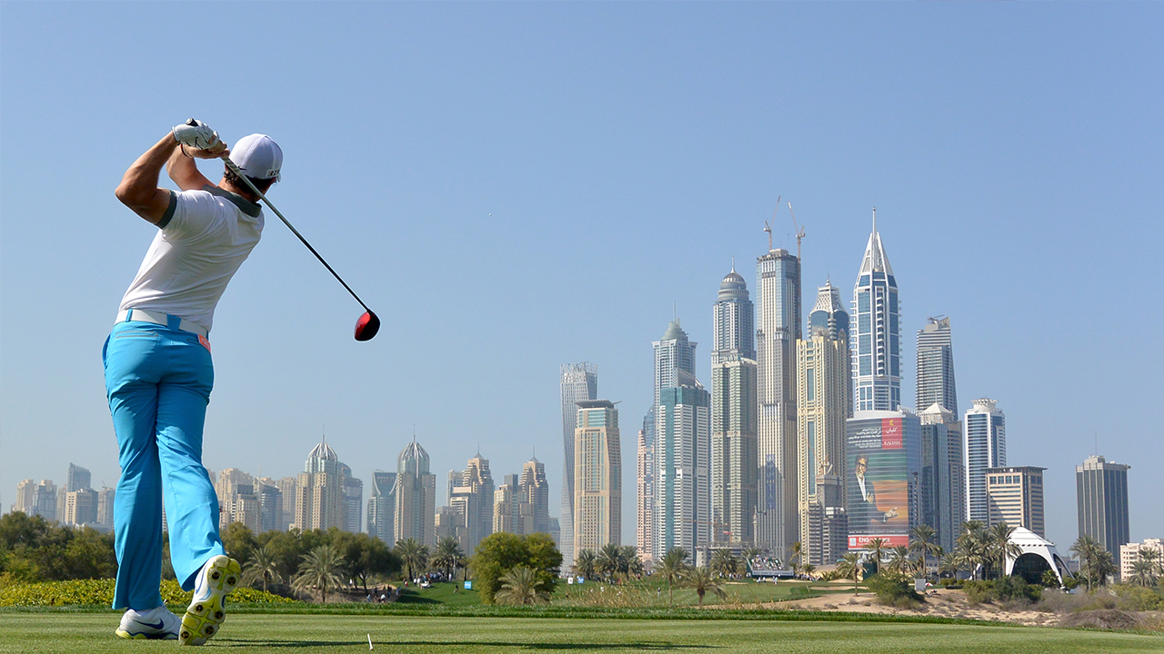 Omega Dubai Golf