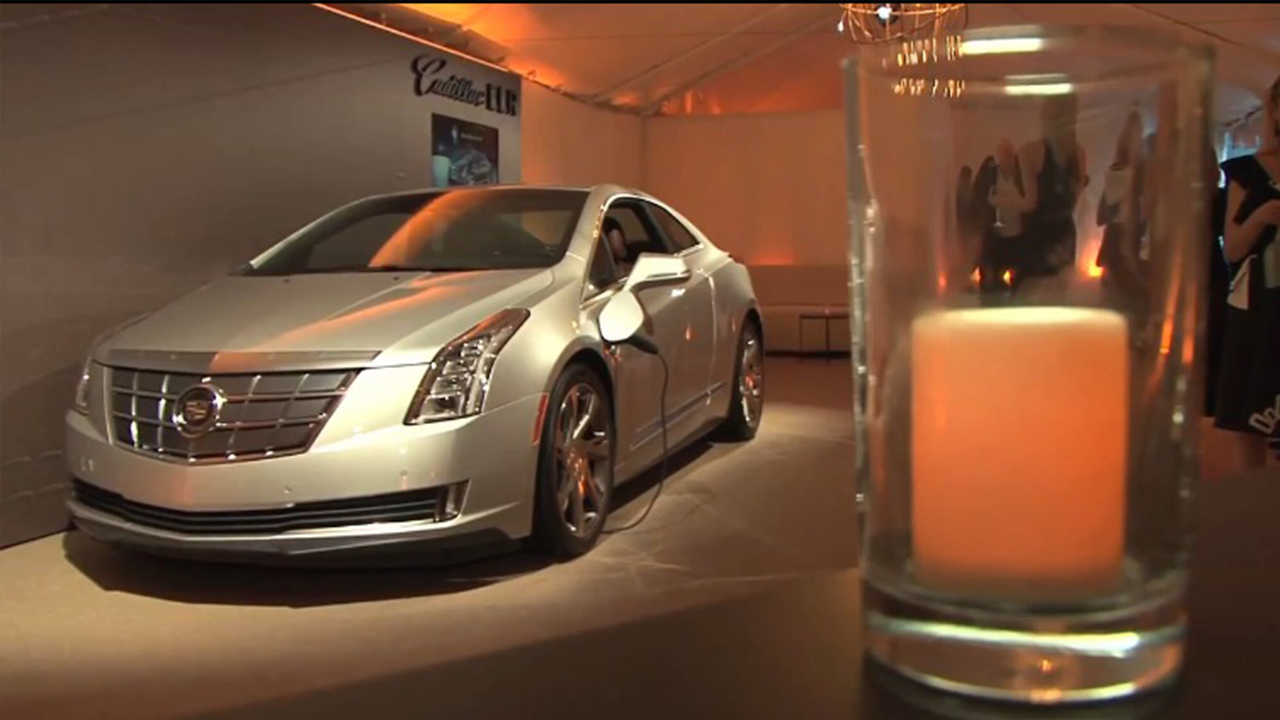 Cadillac Car at party