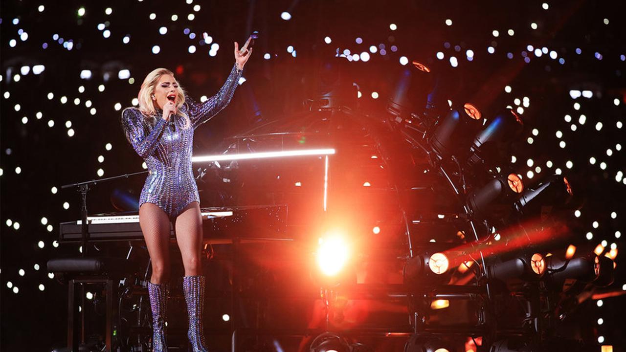 Lady Gaga Super Bowl Performance