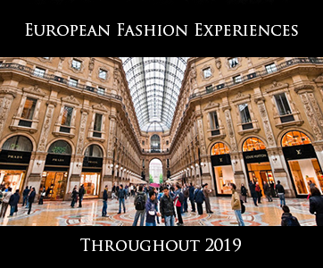 Europe Fashion Experiences