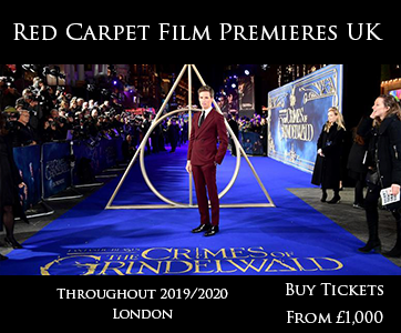 Red Carpet Film Premiere UK