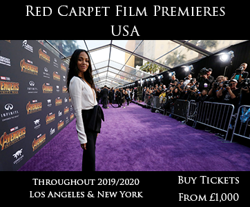 Red Carpet Film Premiere USA