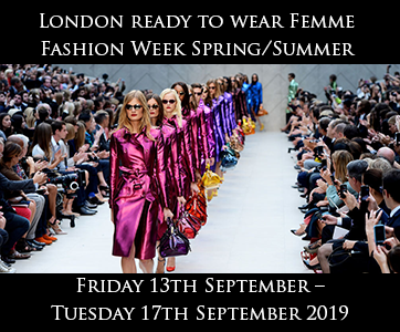 London Women's Fashion Week S/S