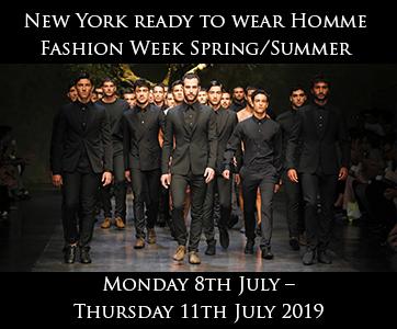 New York Men's Fashion Week Spring/Summer