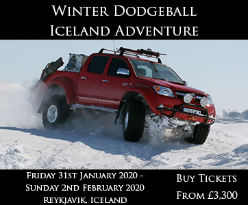 Winter Dodgeball Iceland Adventure