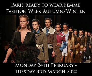 Paris Women Autumn/Winter Fashion Week
