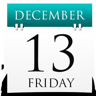 Friday 13th December 2019