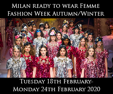 Milan Women Autumn/Winter Fashion Week