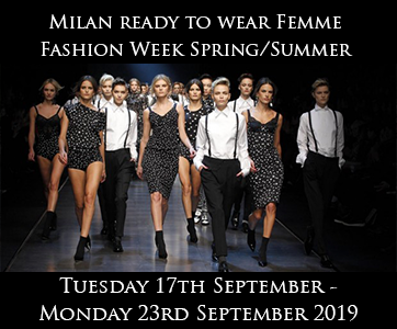 Milan Women's Fashion Week Spring Summer