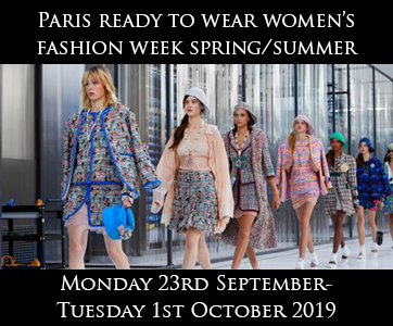 Paris Women's Fashion Week Spring/Summer