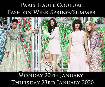 Paris Haute Couture Spring/Summer