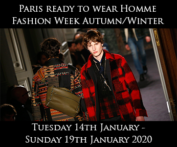 Paris Men's Autumn/Winter Fashion Week