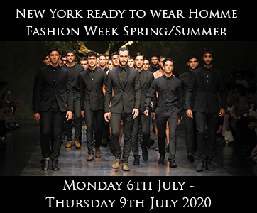 New York Men's Fashion Week Spring/Summer