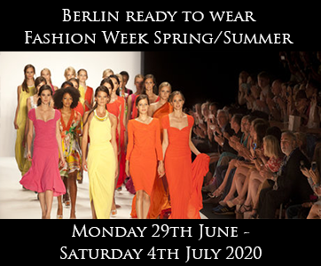 Berlin Fashion Week Spring/Summer